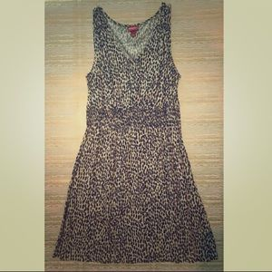 MERONA cheetah print dress